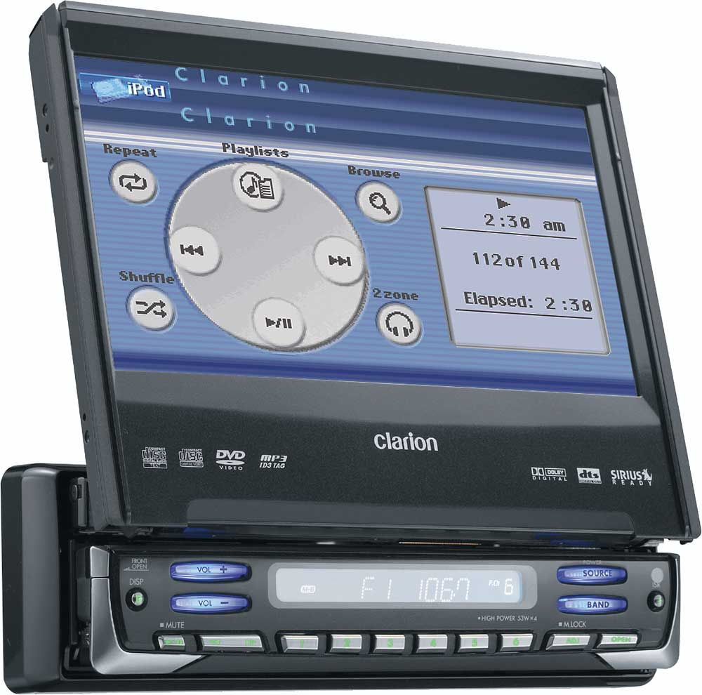 medium resolution of clarion proaudio vrx755vd dvd mp3 receiver with 7 lcd monitor at clarion vrx755vd wiring diagram clarion vrx755vd wire harness diagram