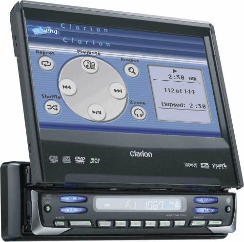 small resolution of clarion proaudio vrx755vd dvd mp3 receiver with 7 lcd monitor at clarion vrx755vd wiring diagram clarion vrx755vd wire harness diagram