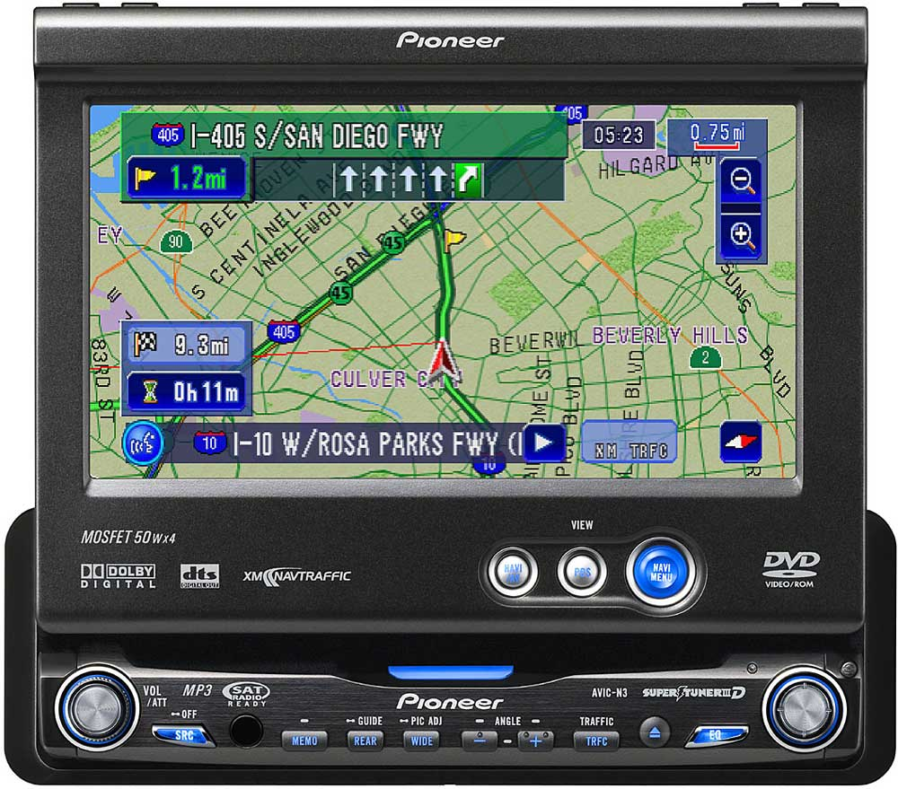 hight resolution of pioneer avic n3 in dash dvd receiver with navigation and 6 5 video rh crutchfield com pioneer avic n3 wiring diagram