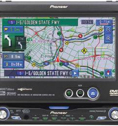 pioneer avic n2 dvd cd navigation receiver with 6 5 monitor at crutchfield [ 1000 x 873 Pixel ]