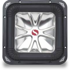 Kicker Solo Baric L5 Wiring Diagram Dodge Dart Stereo Bark Library 05s10l54 10 Subwoofer With Dual 4 Ohm Voice Coils