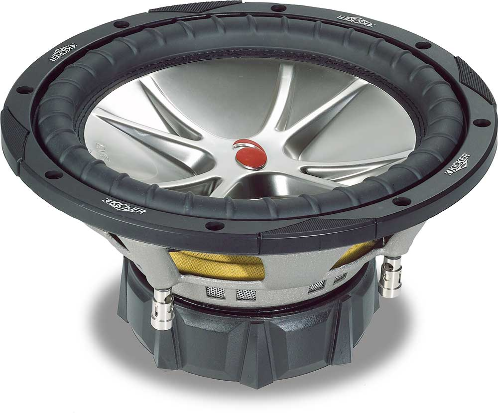 hight resolution of kicker compvr 05cvr124 12 subwoofer with dual 4 ohm voice coils at crutchfield