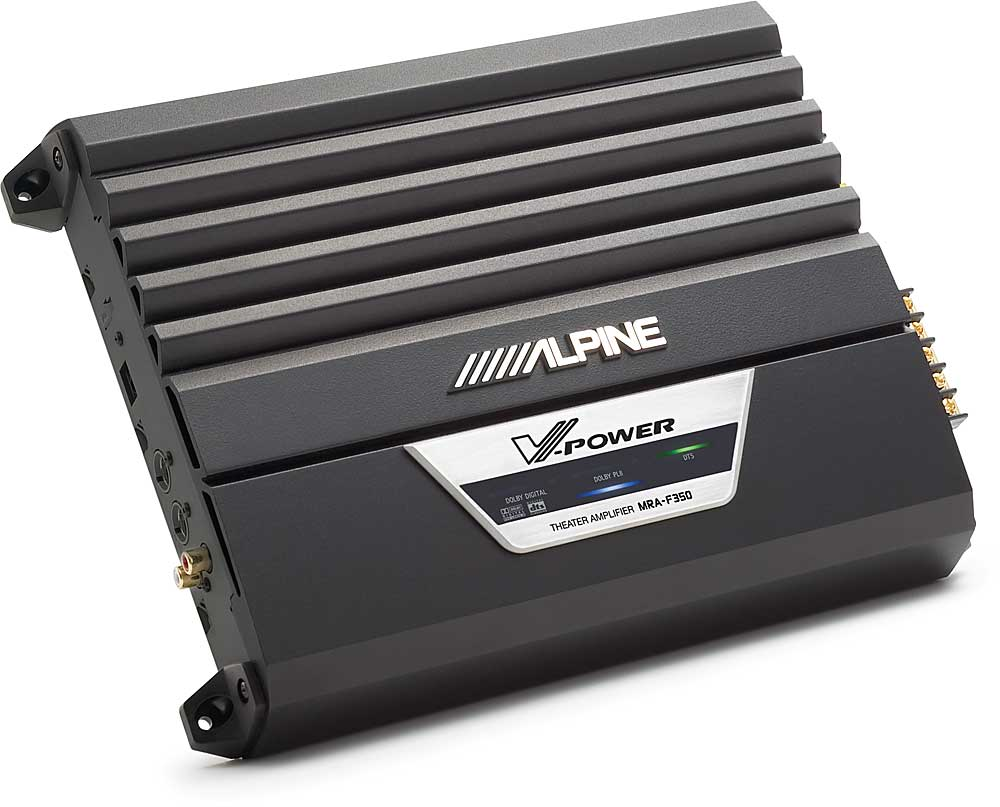 hight resolution of alpine mra f350 5 channel digital theater car amplifier 50 watts rms x 5 at crutchfield com