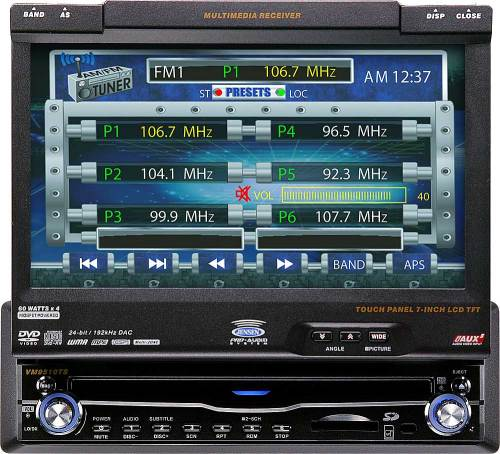small resolution of jensen vm9510ts in dash dvd player with 7 retractable video screen at crutchfield com