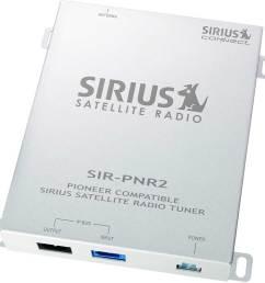 pioneer sir pnr2 sirius satellite radio for pioneer in dash stereos at crutchfield com [ 1000 x 970 Pixel ]