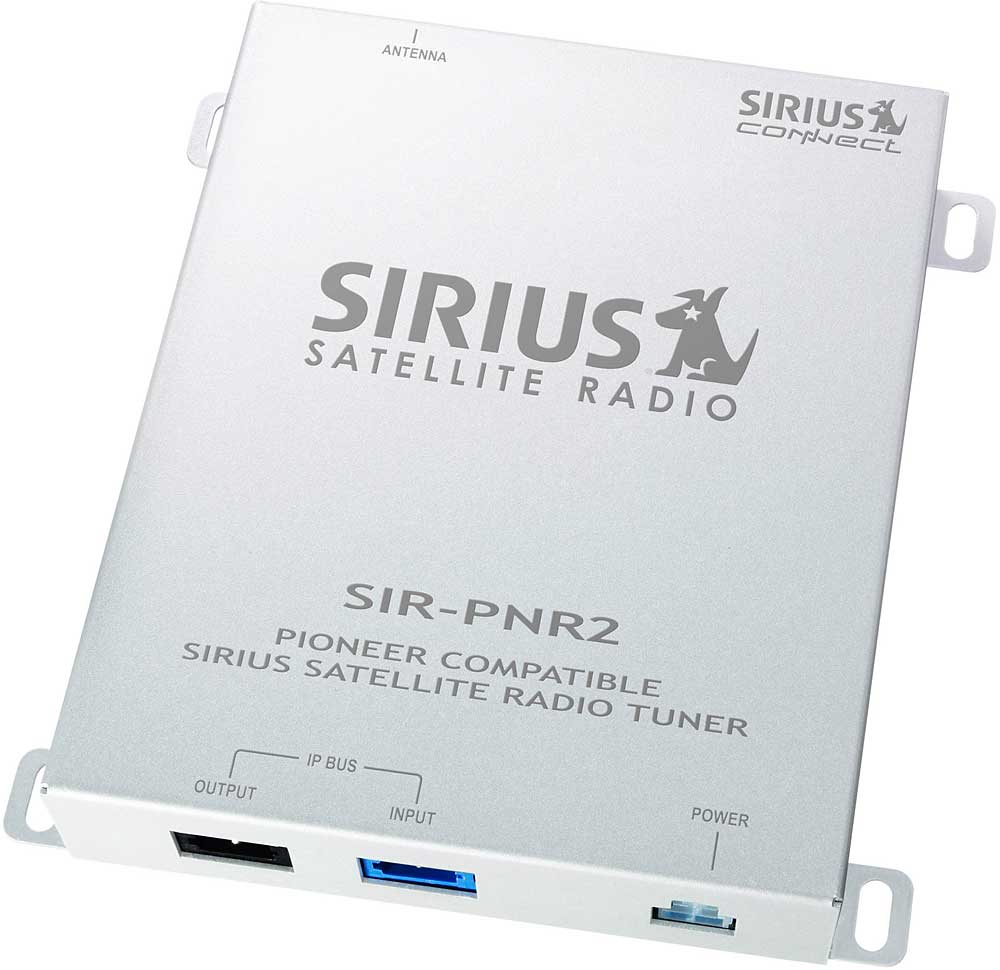 hight resolution of pioneer sir pnr2 sirius satellite radio for pioneer in dash stereos at crutchfield com