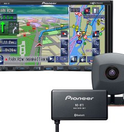pioneer avic z2x package navigation receiver with included rear view camera and bluetooth adapter at crutchfield com [ 1000 x 854 Pixel ]