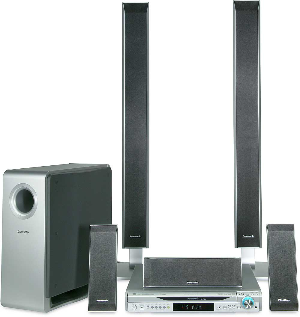 hight resolution of panasonic sc ht940 5 disc dvd home theater system with digital video output and upconversion at crutchfield com