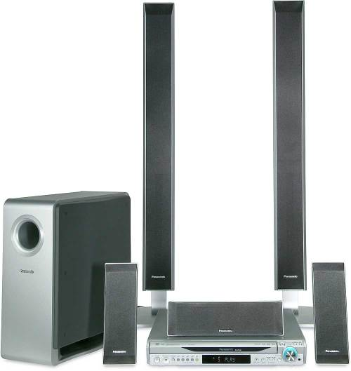 small resolution of panasonic sc ht940 5 disc dvd home theater system with digital video output and upconversion at crutchfield com