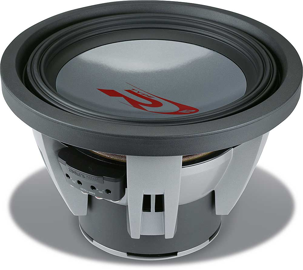 medium resolution of alpine swr 1222d type r 12 subwoofer with dual 2 ohm voice coils at crutchfield