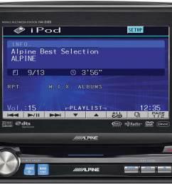 alpine double din stereo [ 1000 x 851 Pixel ]