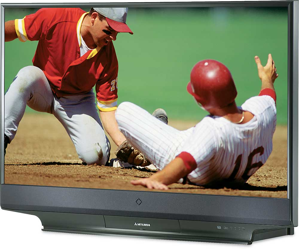 medium resolution of mitsubishi wd 57831 57 diamond series 1080p rear projection dlp hdtv at crutchfield com