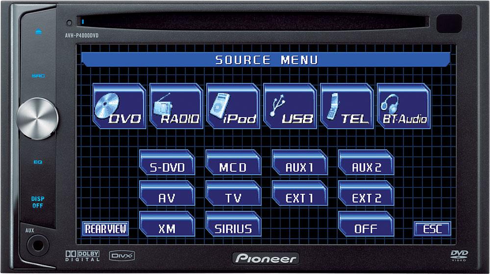 Avh P4000dvd Manual