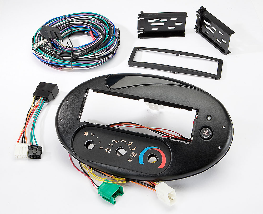 hight resolution of scosche fd134030b dash and wiring kit install and connect a new car stereo in select 1996 99 ford taurus and mercury sable models with the factory rotary