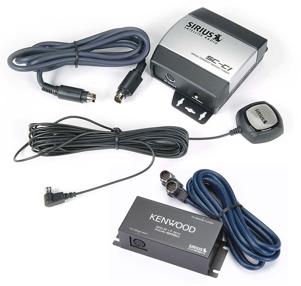 medium resolution of sirius kenwood package get sirius radio reception on your kenwood car stereo at crutchfield com