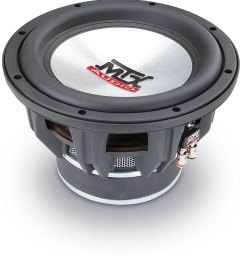 mtx t7510 44 thunder 7500 10 subwoofer with dual 4 ohm voice coils at crutchfield com [ 1000 x 1074 Pixel ]