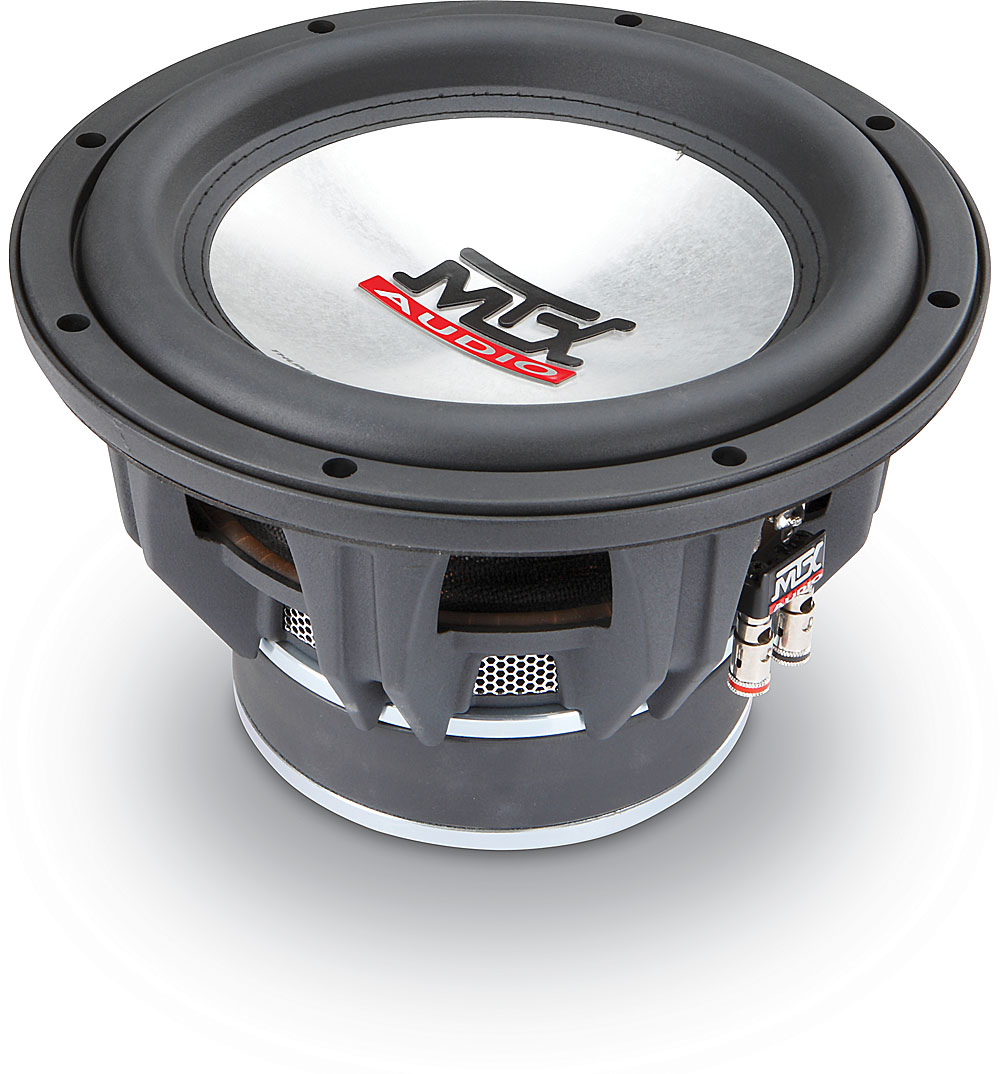 hight resolution of mtx t7510 44 thunder 7500 10 subwoofer with dual 4 ohm voice coils at crutchfield com