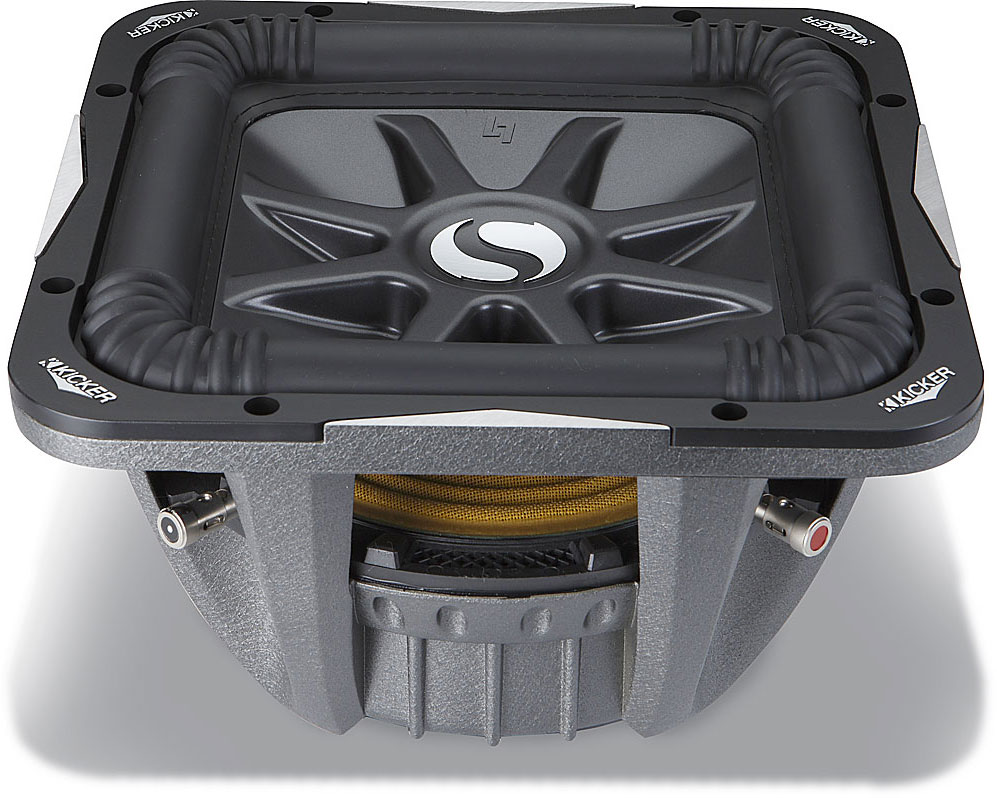 hight resolution of kicker solo baric l7 series 08s10l74 10 subwoofer with dual 4 ohm voice coils at crutchfield com