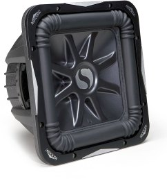 kicker solo baric l7 series 08s12l72 12 subwoofer with dual 2 ohm voice [ 1000 x 983 Pixel ]