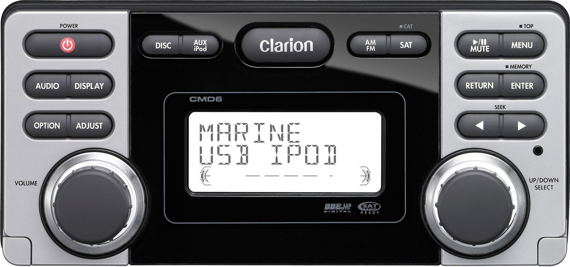 hight resolution of clarion cmd6 marine cd receiver at crutchfield com clarion eqs746 wiring diagram