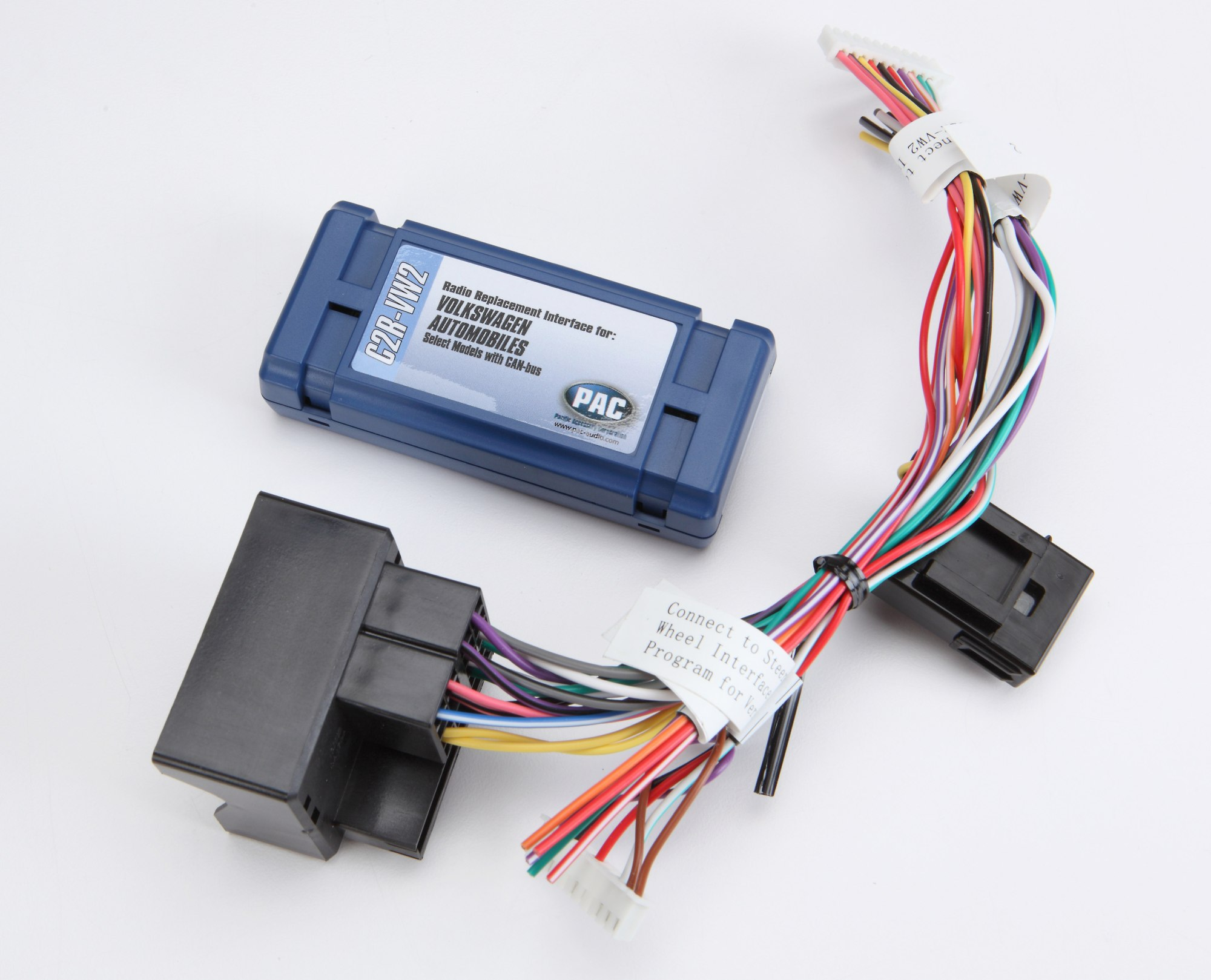 hight resolution of pac c2r vw2 wiring interface connect a new car stereo in select 2002 up volkswagen vehicles at crutchfield com
