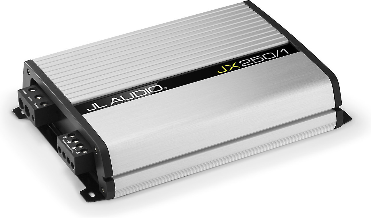 hight resolution of jl audio jx250 1 mono subwoofer amplifier 250 watts rms x 1 at 2 ohms at crutchfield com