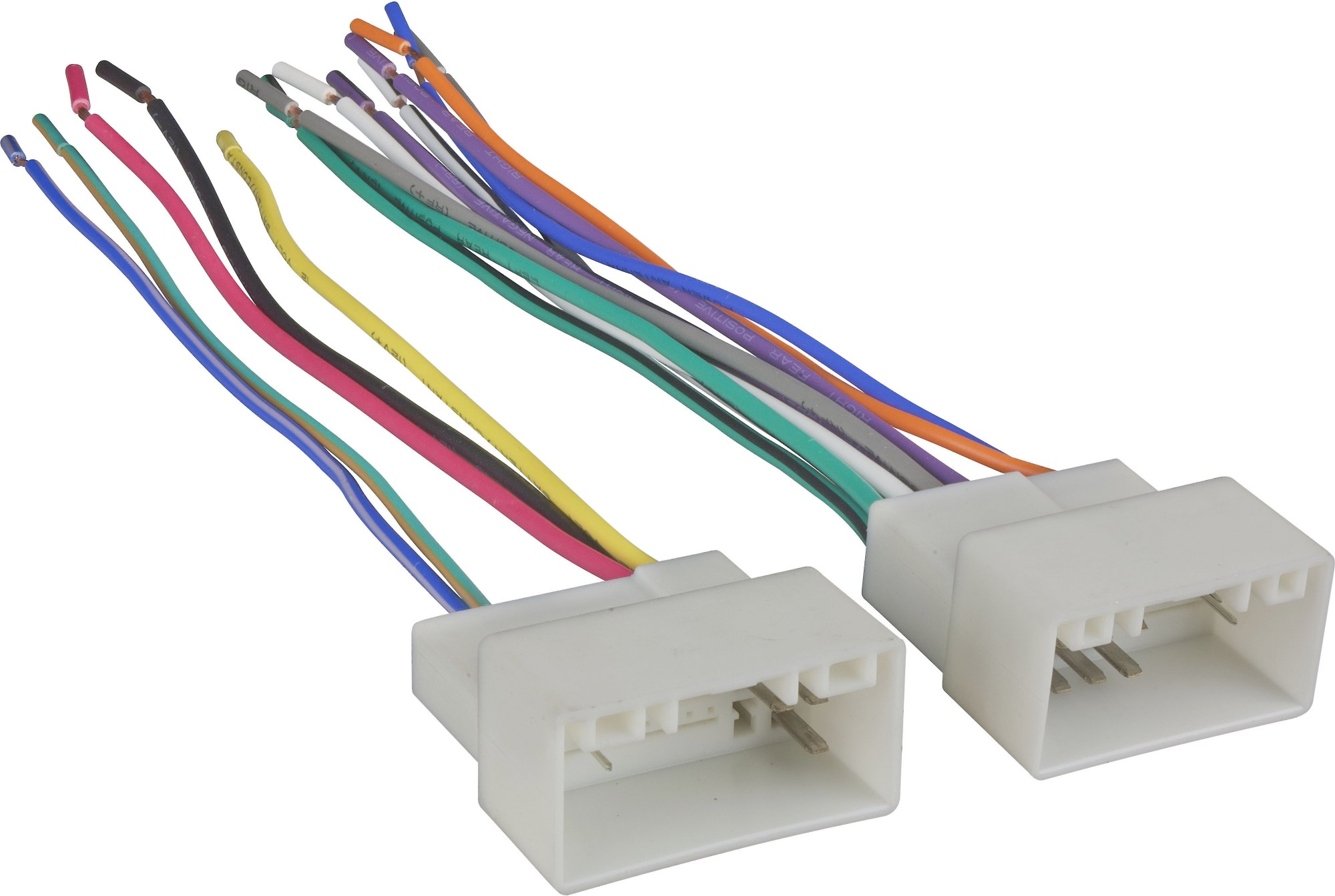 hight resolution of metra 70 7304 receiver wiring harness connect a new car stereo in select 2010 up hyundai and kia vehicles at crutchfield com