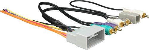 small resolution of metra 70 1730 receiver wiring harness connect a new car stereo in select 2008 up honda vehicles with factory amp at crutchfield com