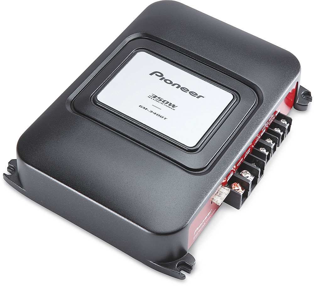 medium resolution of pioneer gm 3400t 2 channel car amplifier 60 watts rms x 2 at crutchfield com
