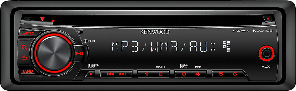 kenwood kdc 108 car stereo wiring diagram outdoor lighting cd receiver at crutchfield com
