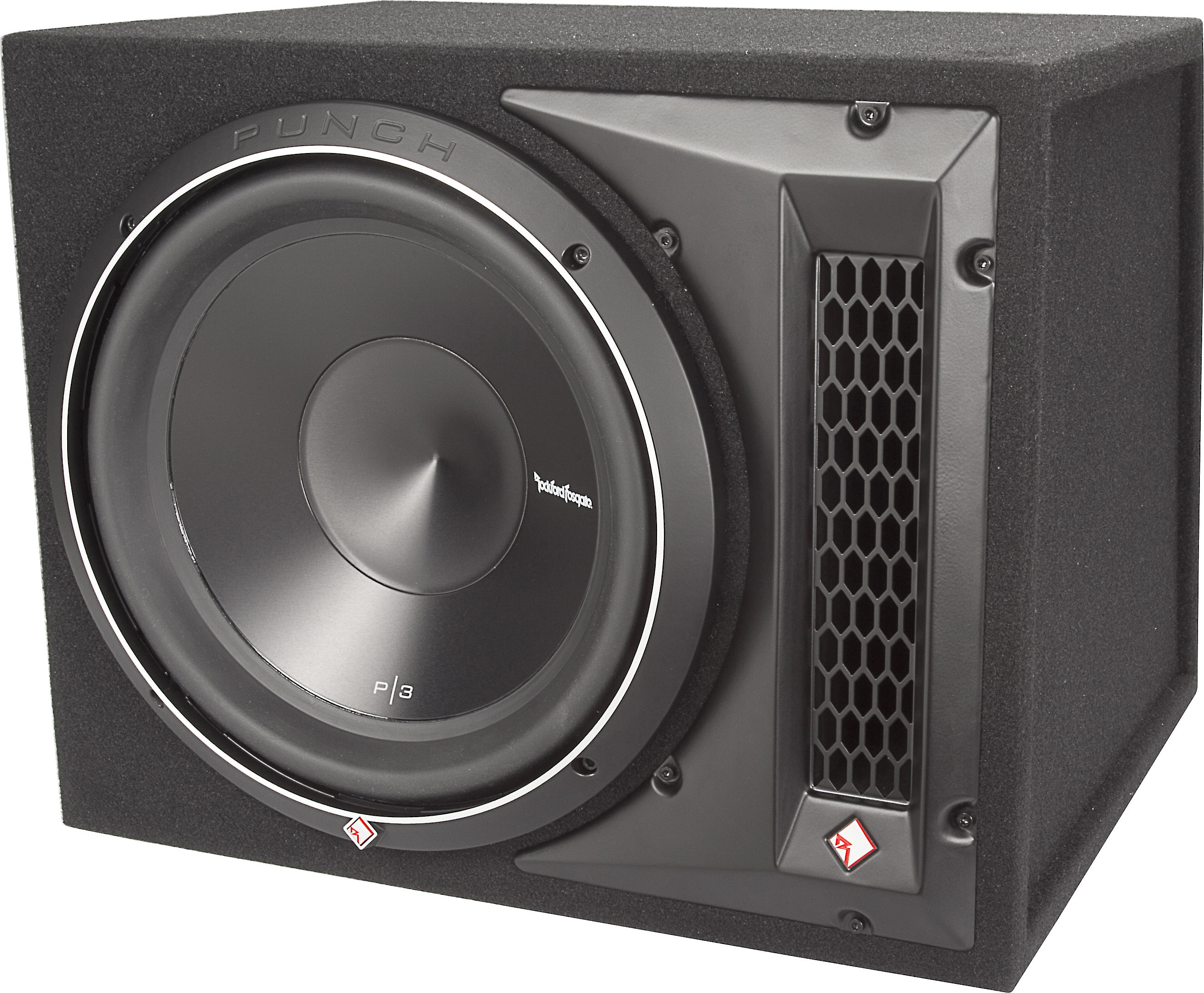 Rockford Fosgate P3 1x12 Punch P3 Ported Enclosure With 12