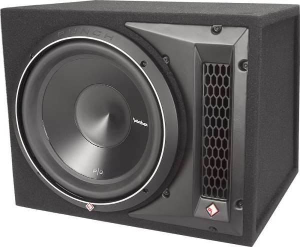 Rockford Fosgate P3-1x12 Punch P3 Ported Enclosure With 12