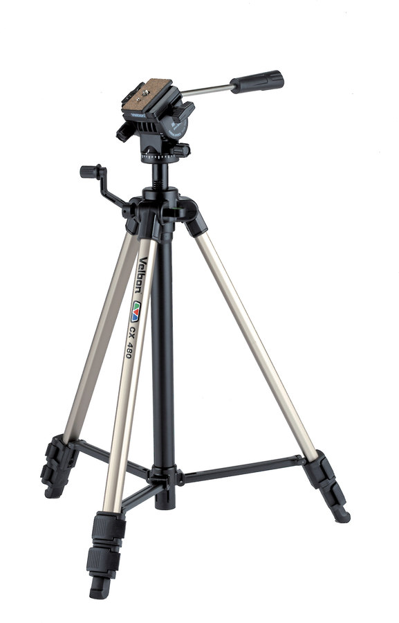 Velbon CX-480 Tripod for digital cameras and camcorders at