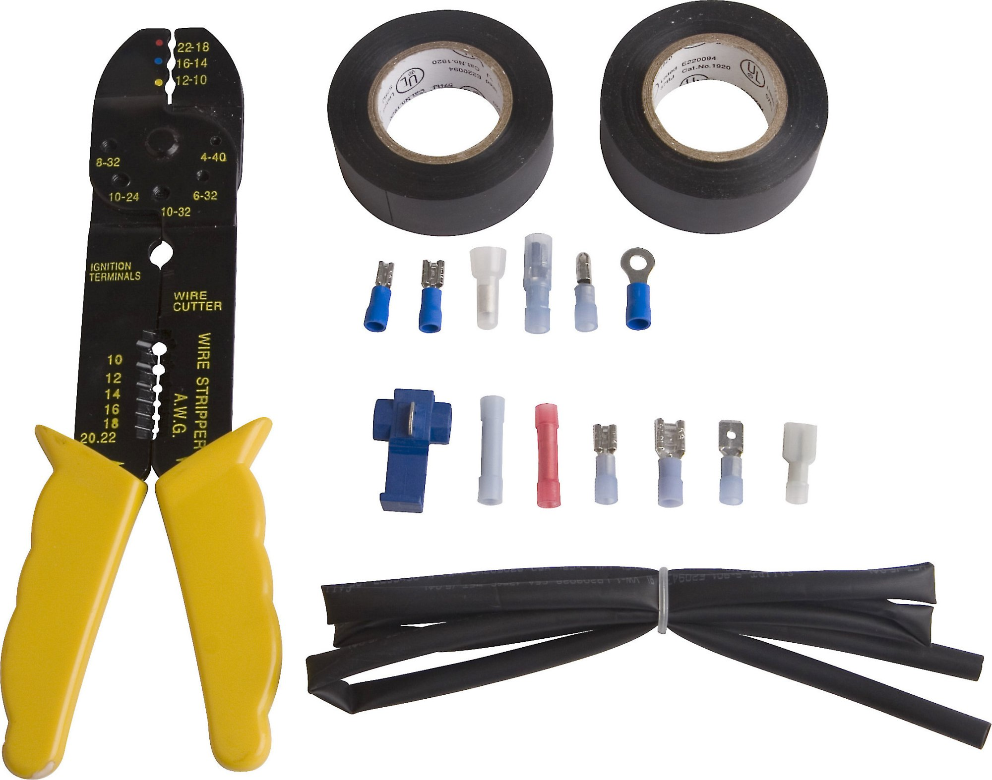 hight resolution of metra crimp tool and connectors package contains crimp tool and over 150 pieces at crutchfield
