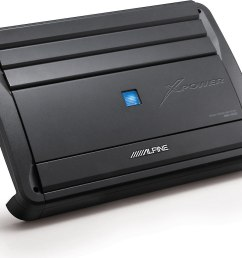 alpine mrx m100 mono subwoofer amplifier 1 000 watts rms x 1 at 2 ohms at crutchfield [ 1207 x 957 Pixel ]