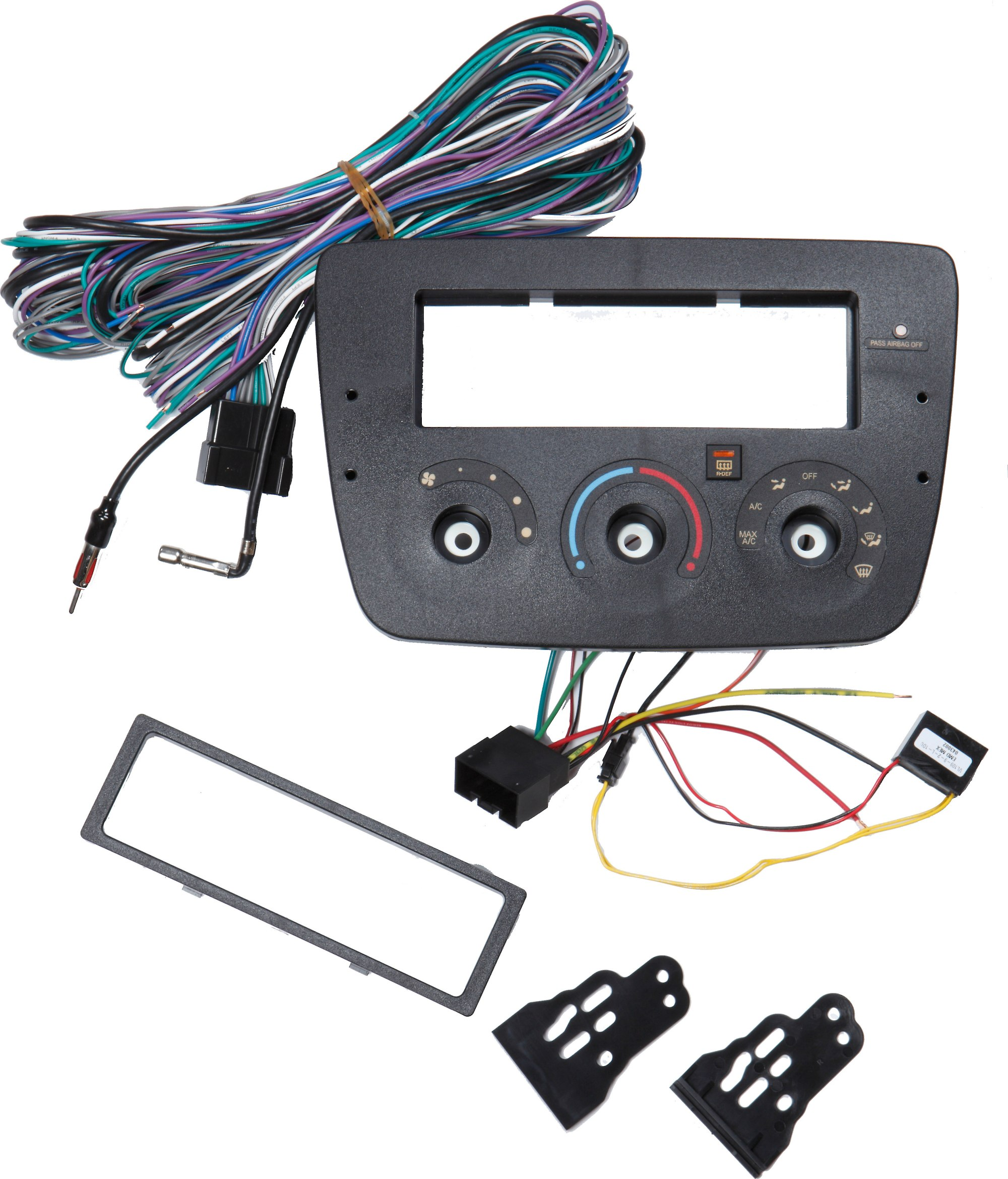 hight resolution of metra 99 5717 dash and wiring kit install and connect a new car stereo in your 2004 up ford taurus or mercury sable at crutchfield com