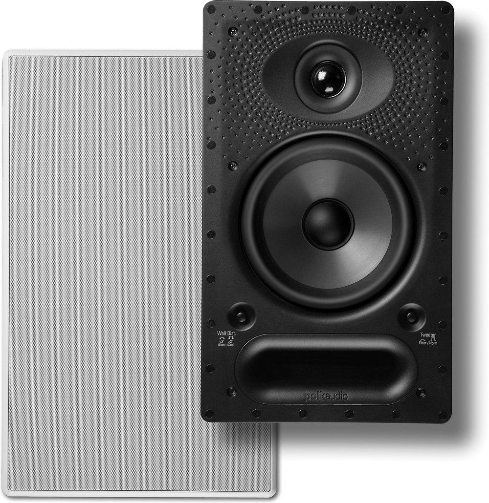 medium resolution of polk audio 65 rt in wall speaker at crutchfield com car speaker wiring diagram wiring diagrams for polk floor speakers