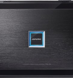 alpine pdx v9 5 channel car amplifier 100 watts rms x 4 500 watts rms x 1 at crutchfield com [ 1230 x 922 Pixel ]