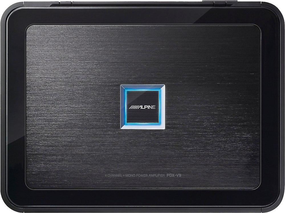 medium resolution of alpine pdx v9 5 channel car amplifier 100 watts rms x 4 500 watts rms x 1 at crutchfield com