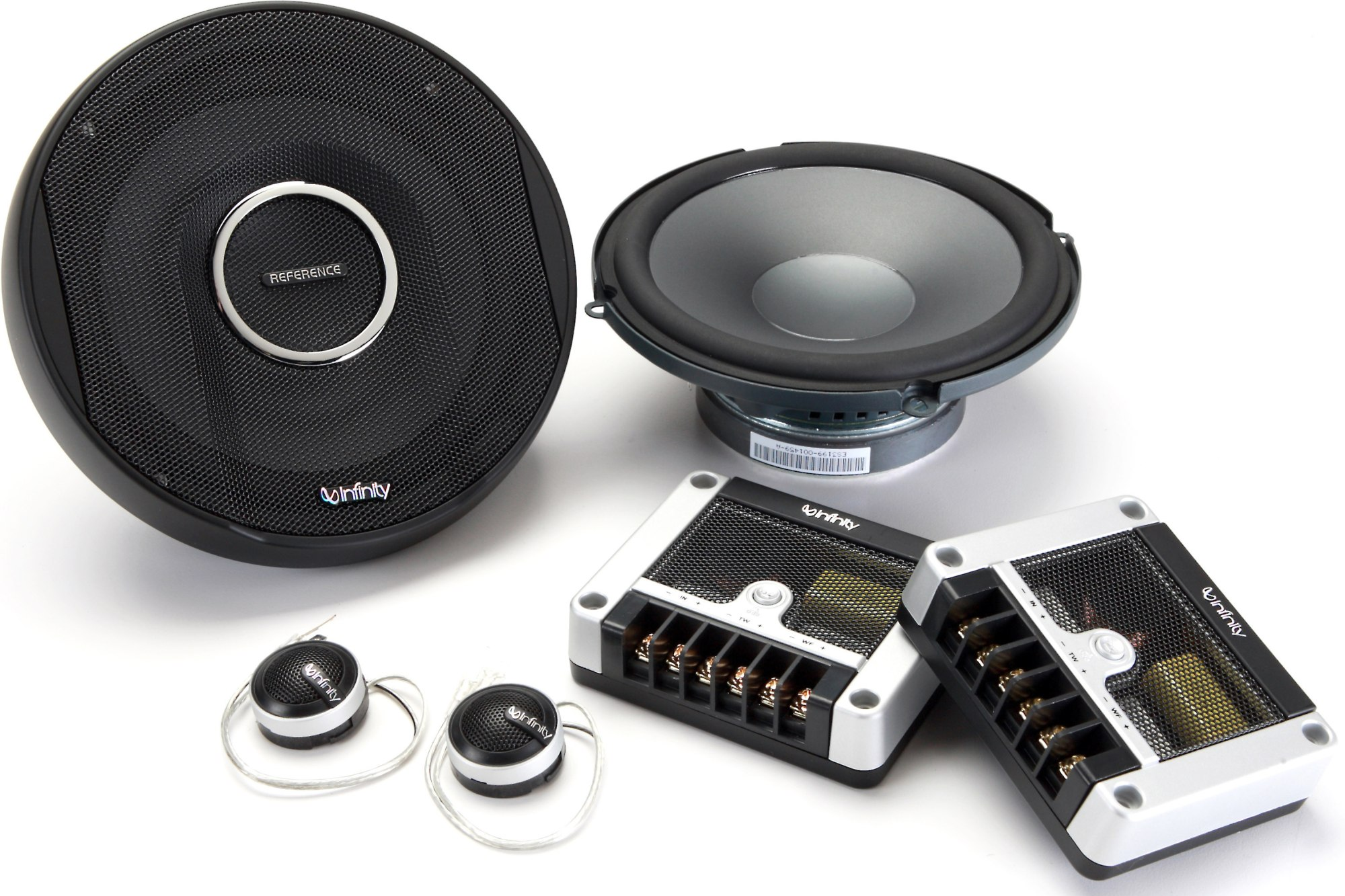 hight resolution of infinity reference x ref 6500cx 6 3 4 component speaker system also fit 6 1 2 openings at crutchfield com