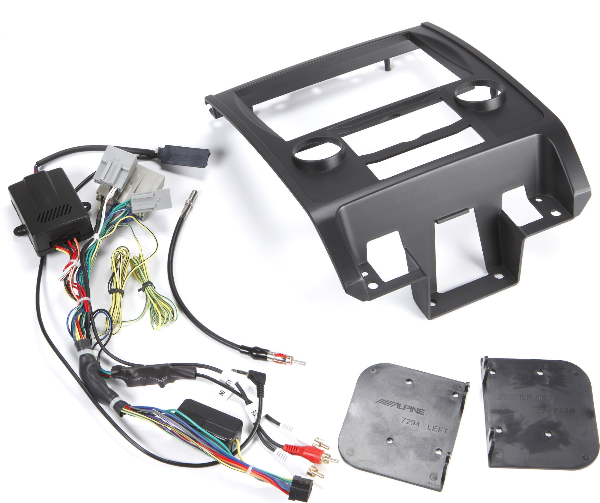 hight resolution of alpine ktx ecp8 restyle dash and wiring kit install and connect a alpine navigation system in select ford escape and mercury mariner models at crutchfield