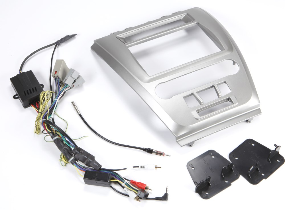 medium resolution of alpine ktx fus8 restyle dash and wiring kit install and connect a alpine navigation system in select ford fusion and mercury milan models at crutchfield com