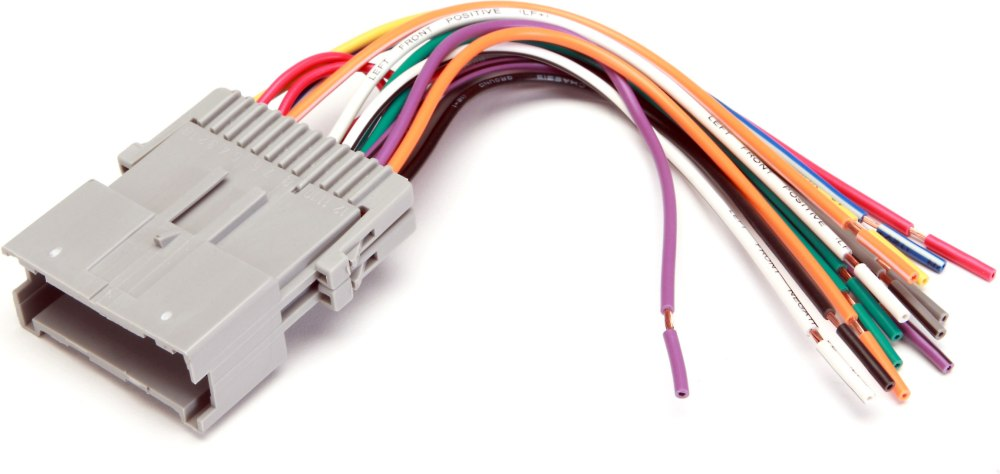 medium resolution of metra 70 2002 receiver wiring harness connect a new car stereo in select 2000 05 chevrolet and saturn vehicles at crutchfield com