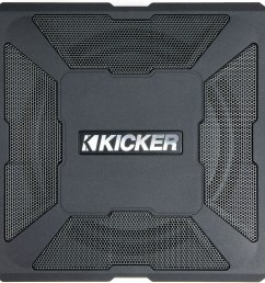 kicker 11hs8 hideaway compact powered subwoofer 150 watts and an 8 sub at crutchfield com [ 1862 x 1242 Pixel ]