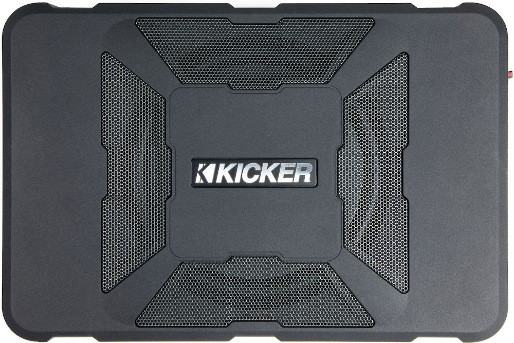 medium resolution of kicker 11hs8 hideaway compact powered subwoofer 150 watts and an 8 sub at crutchfield com