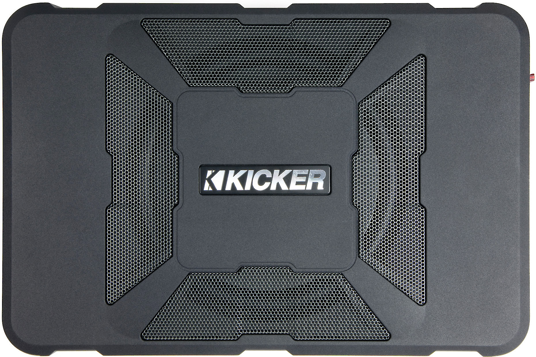 hight resolution of kicker 11hs8 hideaway compact powered subwoofer 150 watts and an 8 sub at crutchfield com