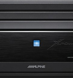 alpine mrx m110 mono subwoofer amplifier 1 100 watts rms x 1 at 2 ohms at crutchfield [ 1400 x 942 Pixel ]