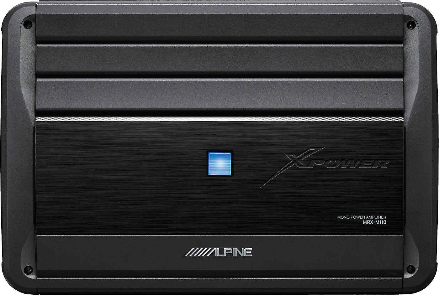 hight resolution of alpine mrx m110 mono subwoofer amplifier 1 100 watts rms x 1 at 2 ohms at crutchfield