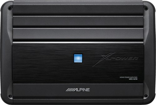 small resolution of alpine mrx m110 mono subwoofer amplifier 1 100 watts rms x 1 at 2 ohms at crutchfield