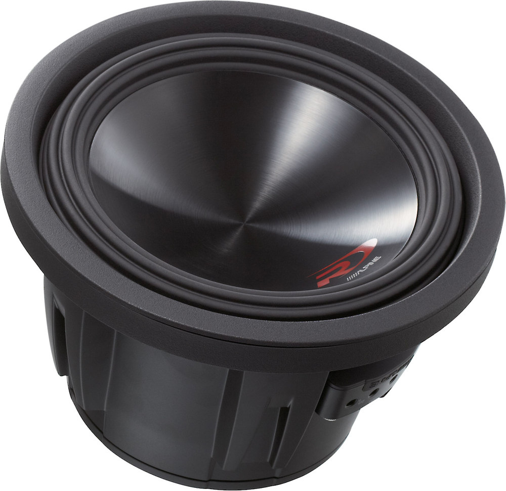 medium resolution of alpine swr 10d2 type r 10 subwoofer with dual 2 ohm voice coils at crutchfield com